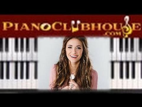 🎹TRUST IN YOU - Lauren Daigle (easy piano lesson tutorial)