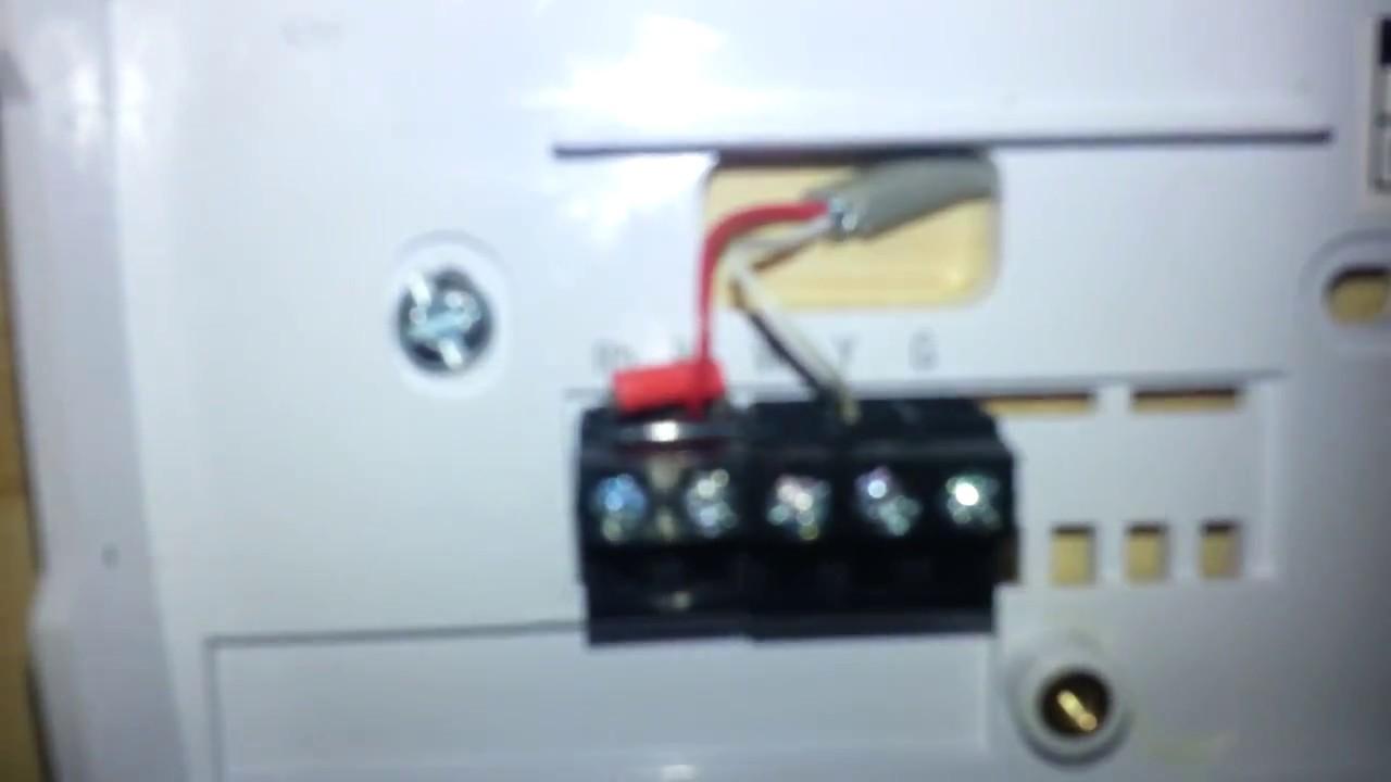 honeywell thermostat wiring explained youtube honeywell thermostat wiring explained  [ 1280 x 720 Pixel ]