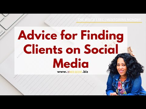 The Write Exec Business Tips | Searching for Virtual Assistant clients on Social Media?
