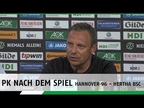 PK nach dem Spiel | Hannover 96 - Hertha BSC