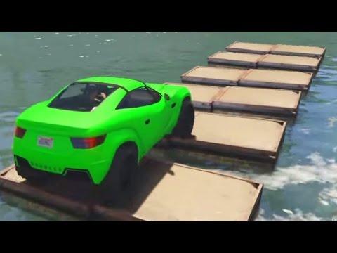 COCHES ACUATICOS!! GO!! - Gameplay GTA 5 Online Funny Moments (Carrera GTA V Xbox ONE)