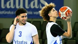 LaVar Ball Removes LiAngelo and LaMelo Ball From Lithuanian Team After Dispute With Coach!