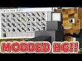 INVENTORY PETS MINECRAFT OVERPOWERED WEAPONS MODDED HUNGER GAMES - MINECRAFT MOD CHALLENGE #3