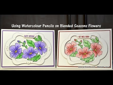 how to use watercolour pencils youtube