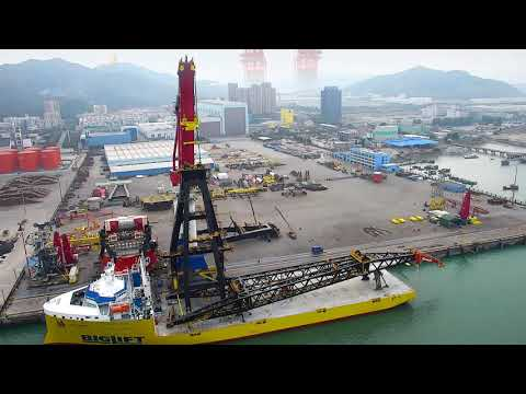 Installation of 2x10000mt TMC Heerema Sleipnir