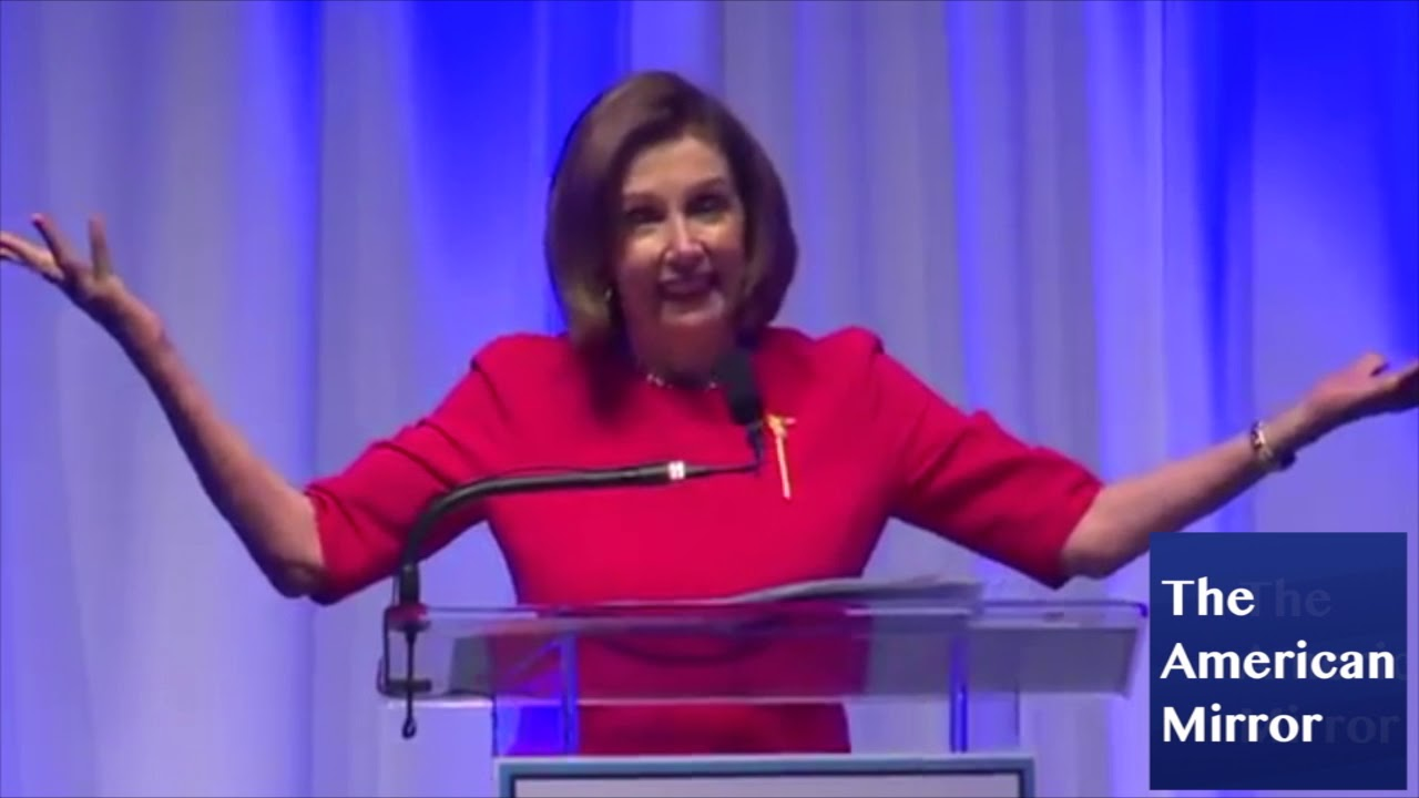American Mirror Nancy Pelosi thinks she's in California -- when she's in Connecticut!