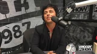 Green Day Interview at The Woody Show about the new album and Hella Mega Tour 2020