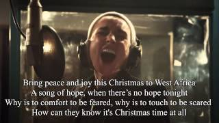 Do they know it's Christmas -  Band Aid 30 2014 with Lyrics Songtext Mp3