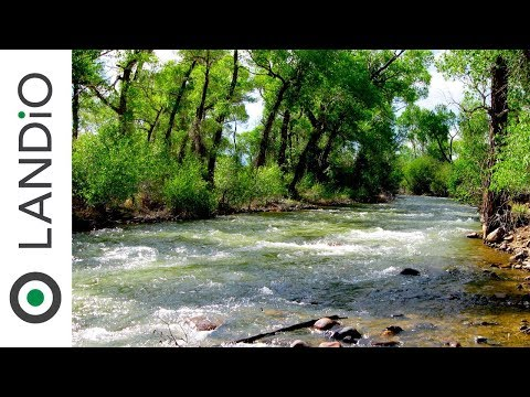 Land For Sale in Colorado 🎣 Lot with County Road Frontage just 200 feet from the Alamosa River