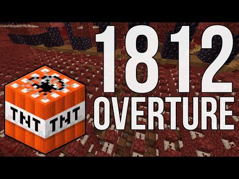 Minecraft: Tchaikovsky's 1812 Overture With TNT Cannons In Minecraft!