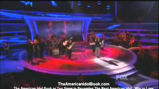 American Idol 2012 - April 7, 2011 Constantine Maroulis sings Unchained Melody