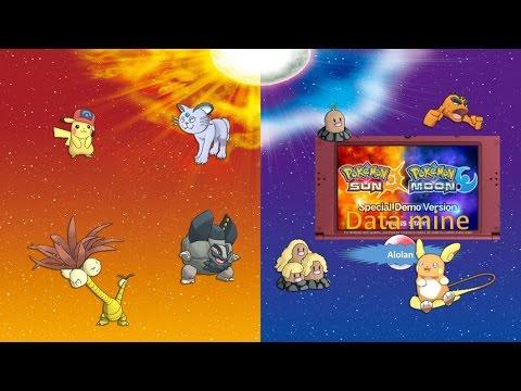 WHOLE POKEDEX: ALOLAN FORMS | Ash-Hat Pikachu | Pokemon Sun Moon ...