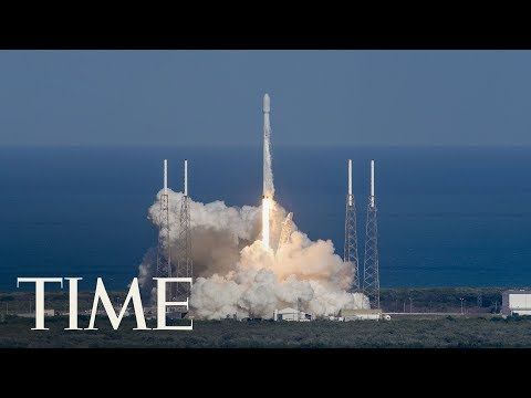 SpaceX Launches 10 Satellites On Falcon 9 Rocket From Califo