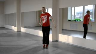 Урок 1 Хип-Хоп база + импровизация (Кач)(Серия видео уроков с базовыми движениями Хип-Хопа., 2015-09-26T07:45:45.000Z)
