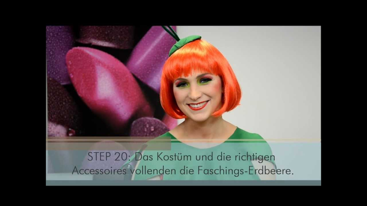 Malu Wilz Beaute Faschings Make Up Erdbeere Youtube