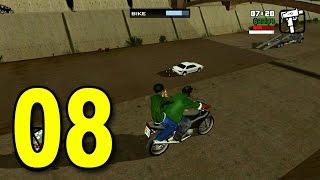 Grand Theft Auto: San Andreas - Part 8 - Epic Getaway (GTA Walkthrough / Gameplay)