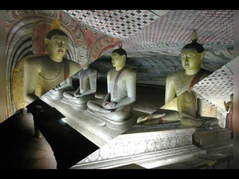 Golden Dambulla Rock Temple (Rangiri Dambulu Temple) (A world Heritage site)