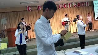 Выступление молодежи Церкви «Осанна Ханаро»Рождество.Южная Корея Пусан 2018'
