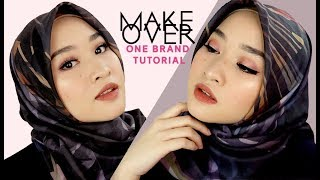 Make Over One Brand Tutorial + Clique Matte Lip Stylo Swatch | Kiara Leswara