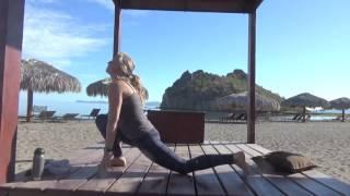 Watery Sea of Cortez Yoga Flow with Kelly Heath