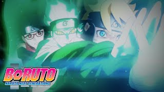 Team 7 Compressed Rasengan! | Boruto: Naruto Next Generations