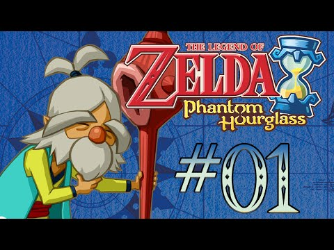 Let's Play TLoZ Phantom Hourglass 1: Bei disegni, Link