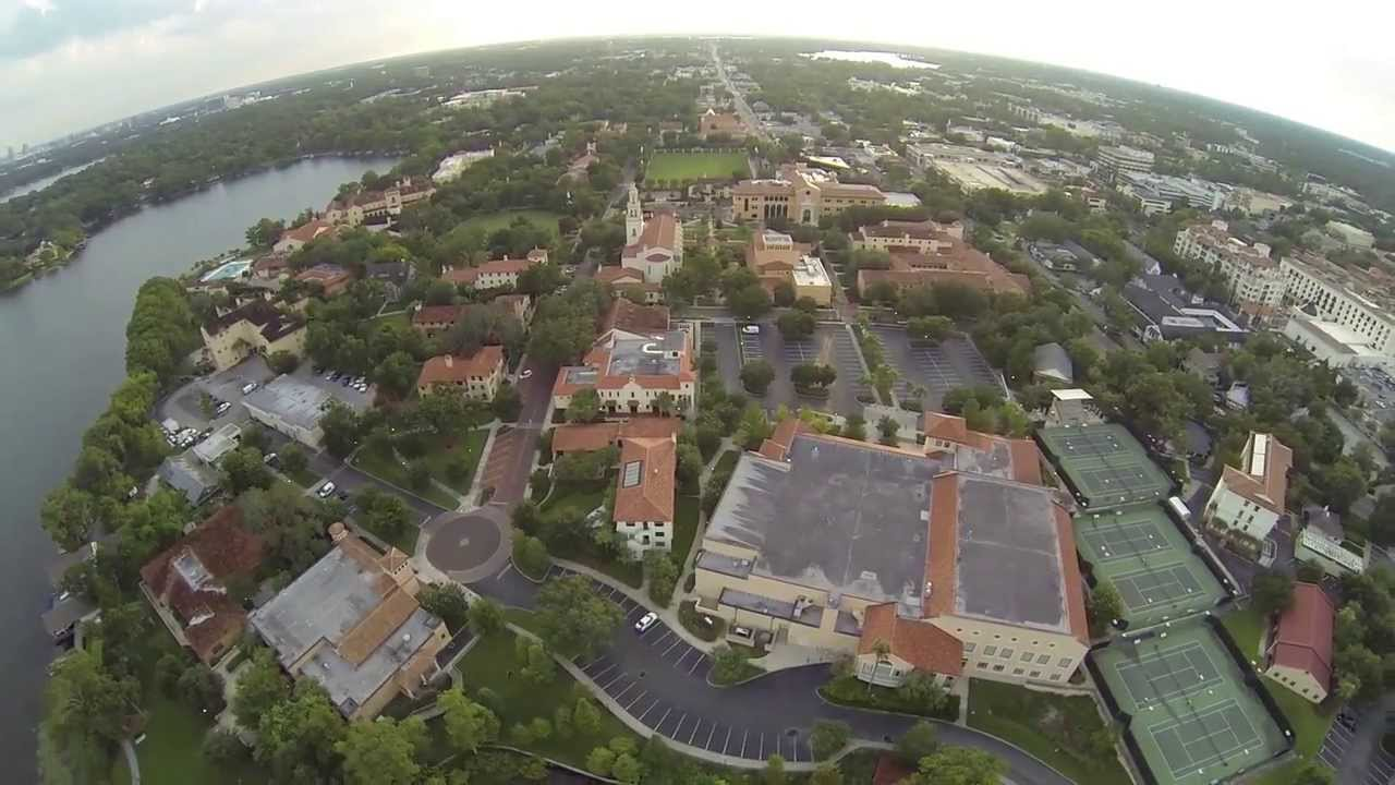 rollins college winter park florida aerial view www. Black Bedroom Furniture Sets. Home Design Ideas