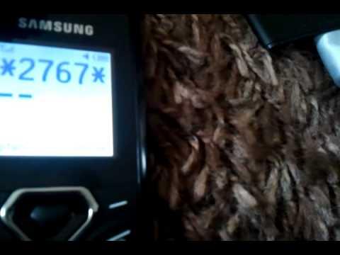 Samsung Curvy Simplicity GT-E1170 Full Reset Code