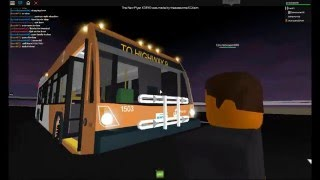 ROBLOX autocarros: passeio em MiWay #1503 na rodovia 9 Shuttle