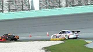 Porsche GT3 passing Miata @ NASA HPDE Race Event Thumbnail