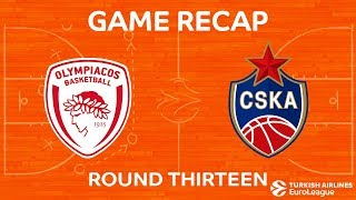 Highlights: Olympiacos Piraeus - CSKA Moscow