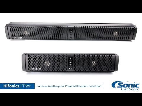 Hifonics Thor Bluetooth Weatherproof Sound Bars | Product Overview