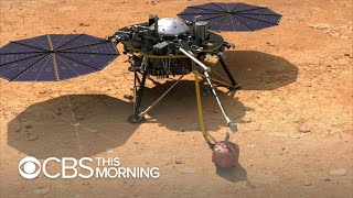 NASA's InSight Lander set to land on Mars Monday