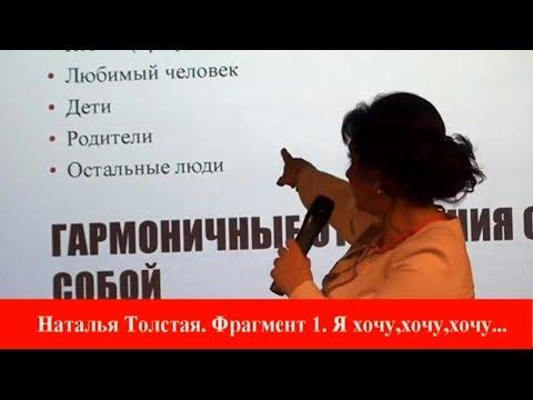 Наталья Толстая - Я хочу! - Russian Women Forum - 2018 // часть 1
