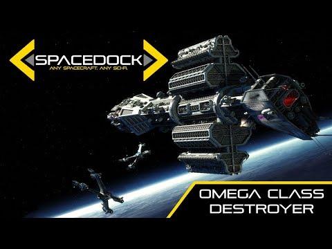 Babylon 5: Omega Class Destroyer - Spacedock