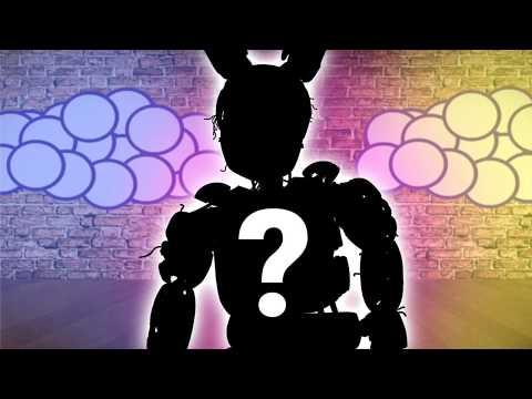 Угадай аниматроника по силуэту часть 5