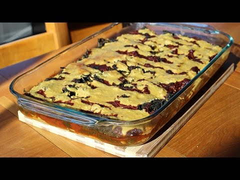 Best Plant Based Vegan Zucchini Lasagna : Whole Food Plant Based Vegan Recipes