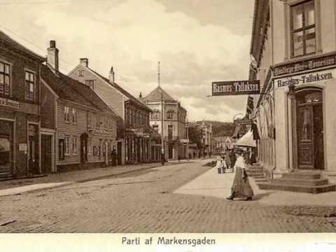 Kristiansand for hundre år siden