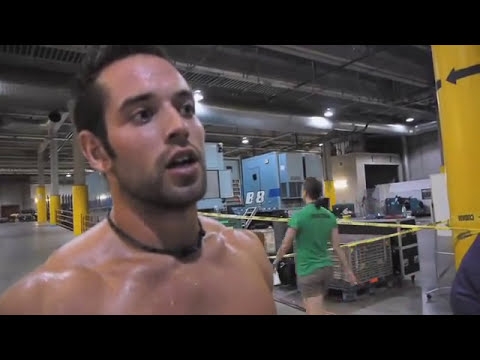 crossfit games rich froning after day 1 youtube