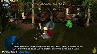 Lego Marvel Avengers: HUB 6 / Malibu FREE ROAM (All Collectibles) - HTG