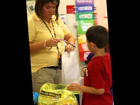 Kindergarten Service Learning Project at Green Sea Floyds Elementary School