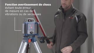 Laser rotatif auto Bosch GRL 400 H - Guedo outillage