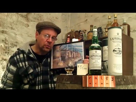 whisky review 575 - Laphroaig 10yo re-reviewed 2016