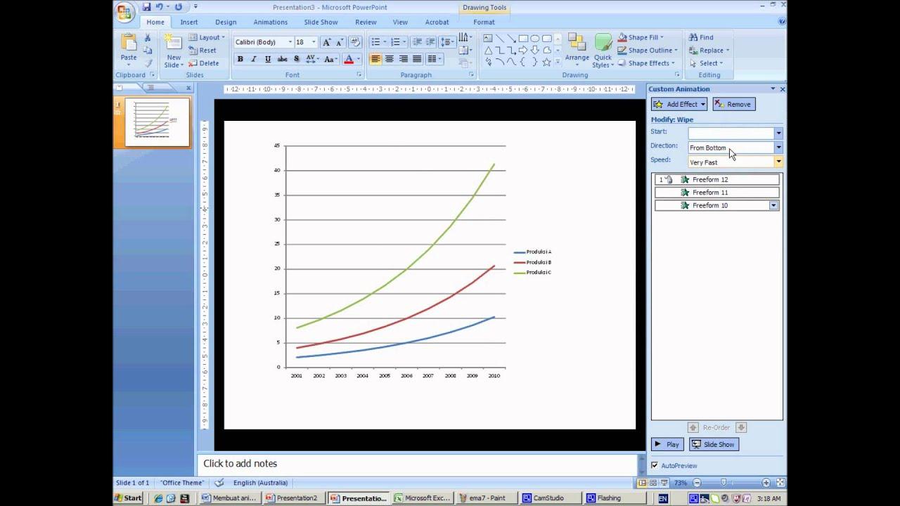 Membuat animasi di power point dengan grafik dari excel youtube membuat animasi di power point dengan grafik dari excel ccuart Gallery