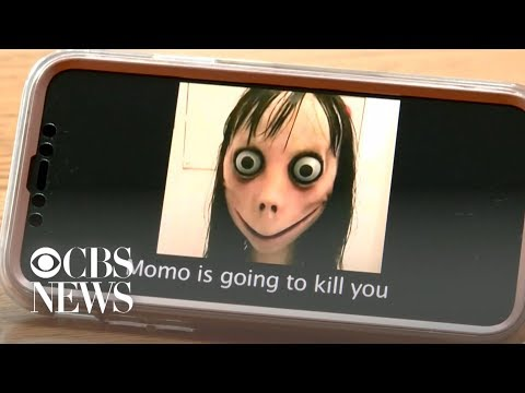 """Momo challenge"" spurs girl's dangerous behavior, mom says"