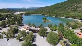[Bebop2] [FullHD 1080P] Plan d'eau de Veynes (Hautes Alpes)