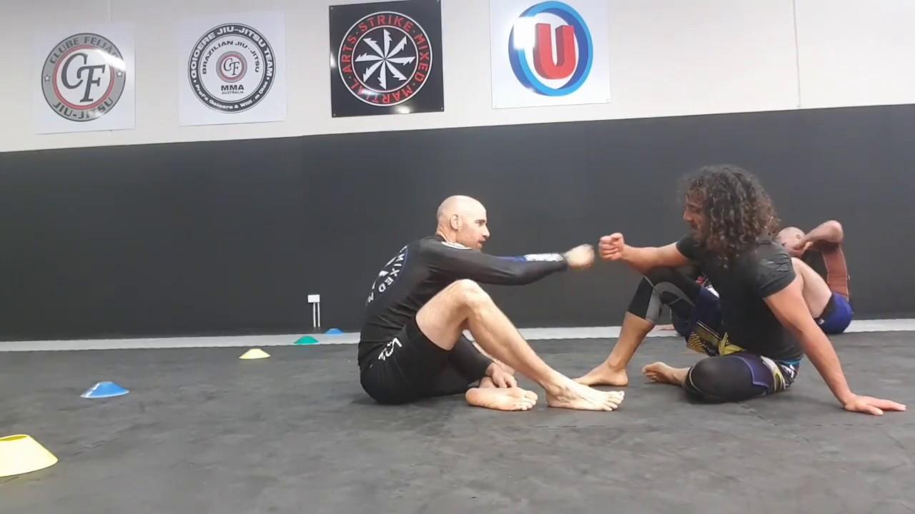 Strike MMA Blue Belts Jaime Boyson and Mick Phillips rolling no gi
