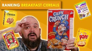 Ranking Breakfast Cereals | Bless Your Rank