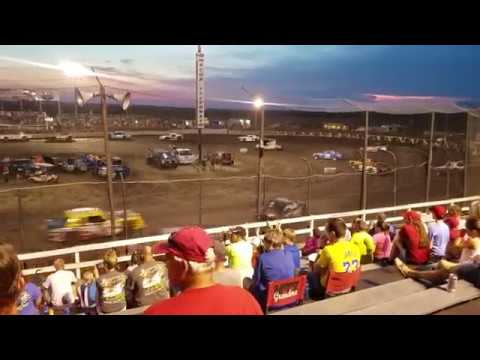 Street Stock Feature - Macon Speedway 6/29/19