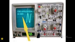 Cathode Ray Oscilloscope (CRO)    Electronic Measurements and Instrumentation